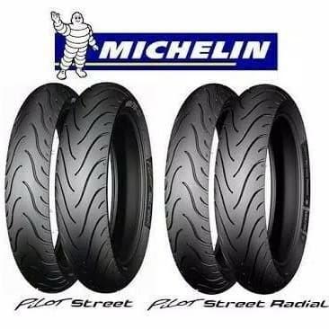 Foto Produk Paket Murah Ban Michelin Nmax 120/70-13 dan 140/70-13 Pilot Street dari Sumber Jaya Motor