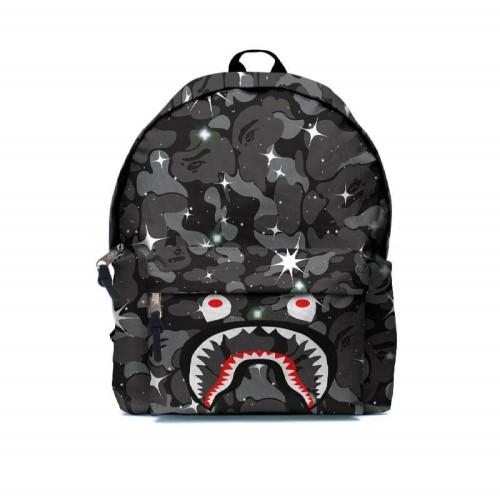 Foto Produk Tas Ransel Backpack A BATHING APE BAPE CAMO SHARK FullPrint ART-16 dari ManX