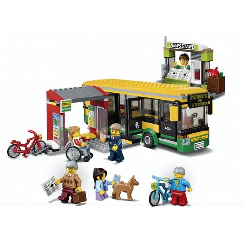 Foto Produk 02078 Lego City Town Bus Station dari Wil Toys