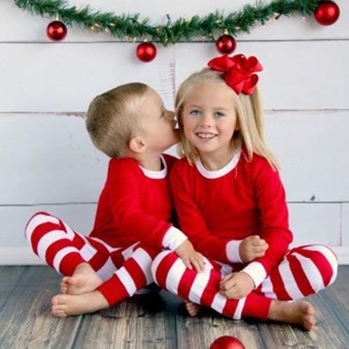 Foto Produk Kostum natal merah putih toddler anak balita christmas costume set - 5 dari Baby Angeline Shop
