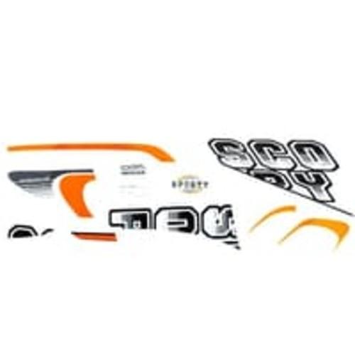 Foto Produk Sticker Body Kanan Putih Hitam – Scoopy eSP K93 871X0K93N10ZCR dari Honda Cengkareng