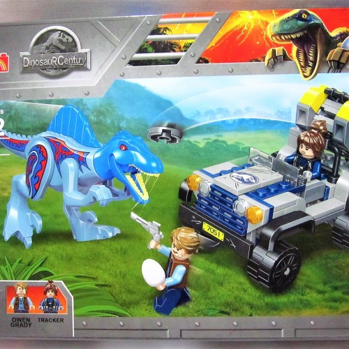 Foto Produk 77051 Lego Dinosaurus Jurassic World Spinoraptor & Baby Veloceraptor dari Wil Toys