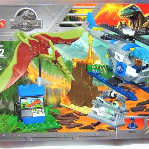 Foto Produk 77049 Lego Dinosaurus Jurassic World Pteranodon & Baby Veloceraptor dari Wil Toys
