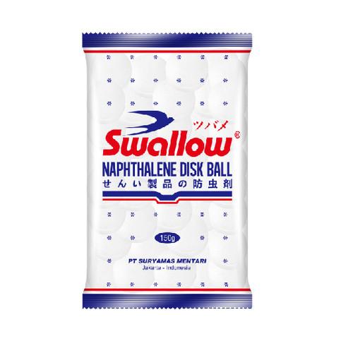 Foto Produk Kamper Swallow Disk Ball Naphthalene 150 gr dari Pernak Pernik Shops