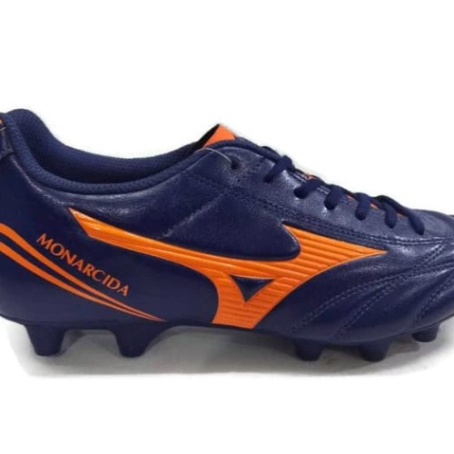 Foto Produk Sepatu Sepak Bola Football Mizuno Monarcida FS MD Navy - Navy, 42 dari Toko Sepatu Widya Jaya