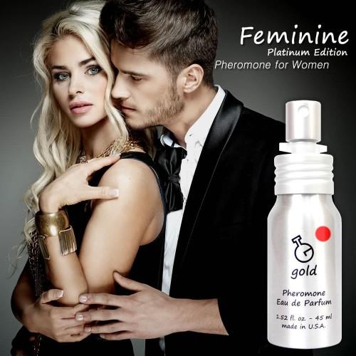 Foto Produk Parfum G Platinum Edition Feminine dari Gold Pheromone