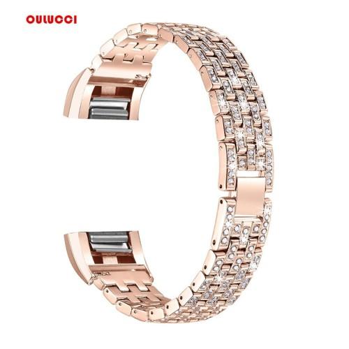 Foto Produk Watch Band For Fitbit Charge 2 Replacement Metal Bracelet dari almira skincare