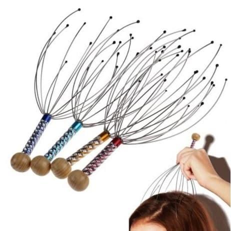 Foto Produk Head Scalp Massager - Massage Octopus Equipment - Stress Release Tool dari Spero Bandung