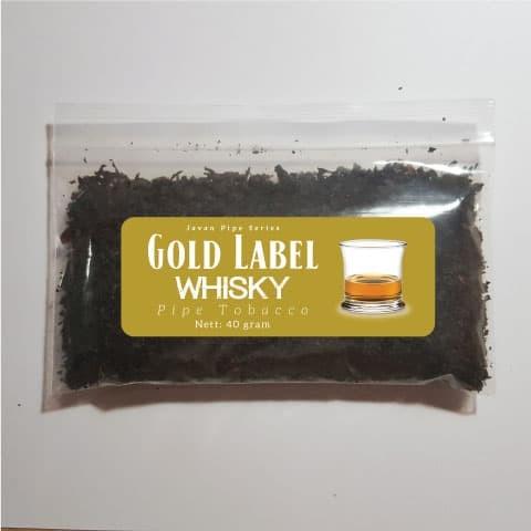 Foto Produk Javan Pipe Gold Label Whisky (Bulk 40 g) - Tembakau Pipa Cangklong dari Javan Cigars