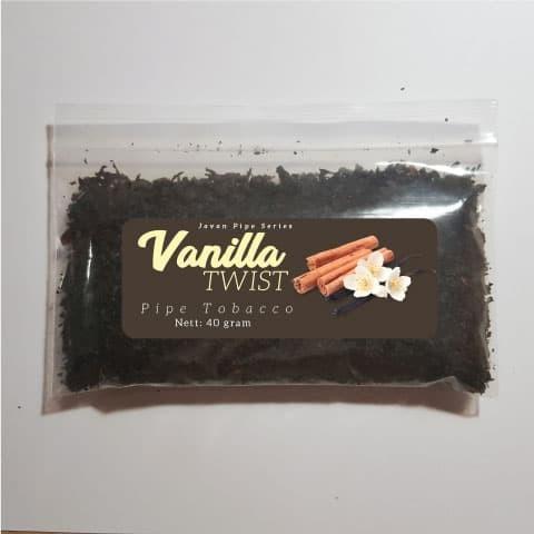 Foto Produk Javan Pipe Vanilla Twist (Bulk 40 g) Tembakau Pipa Cangklong Tobacco dari Javan Cigars