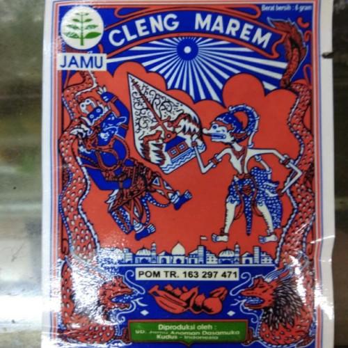 Foto Produk Jamu Herbal Serbuk Cleng Marem Cap Wayang Becak Pegal Linu Original dari ToserbaGrosirOlshop