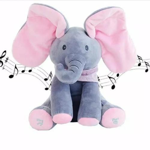 Foto Produk Boneka import Elephant Music dan Peek A Boo dari AUTO KID II
