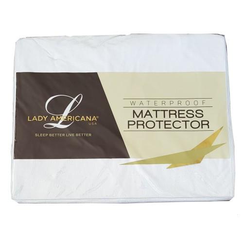 Foto Produk Lady Americana Mattress Protector Waterproof (Pelindung Kasur) - Size 200 x 100 dari Lady Americana