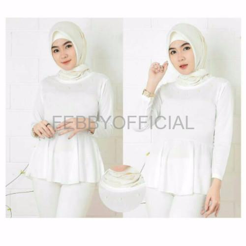 Foto Produk Baju Cewek Baju Wanita Murah Blouse vila mr dari Febby Official