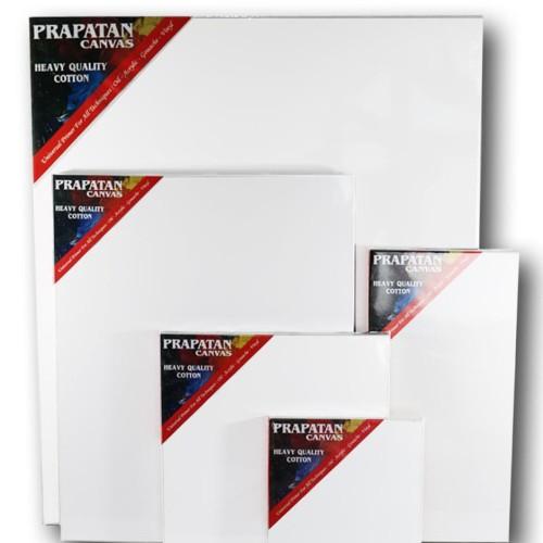 Foto Produk Kanvas lukis prapatan + spanram (20x20cm) dari Toko Prapatan-alat lukis