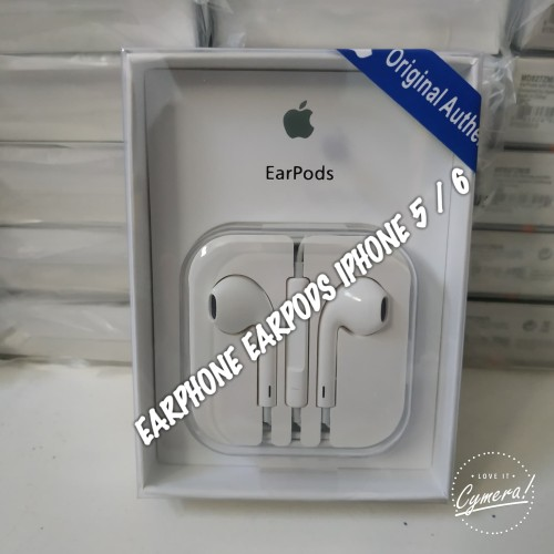 Foto Produk Handsfree/ Headset /Earphone/ EarPods Apple Iphone Original 100% dari NO PHP