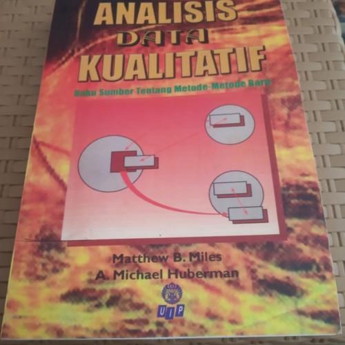 Foto Produk Analisis Data Kualitatif - Miles Huberman dari City Store Malang