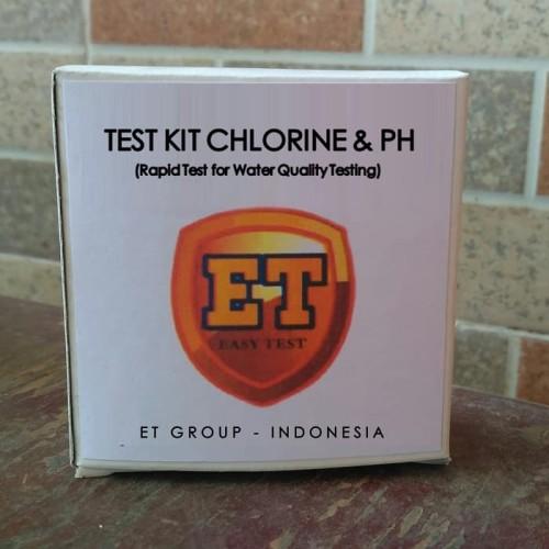 Foto Produk Test Kit Chlorine pH merk ET - Testkit Klorin dan pH - Tes Cepat Air dari Sooper Shop