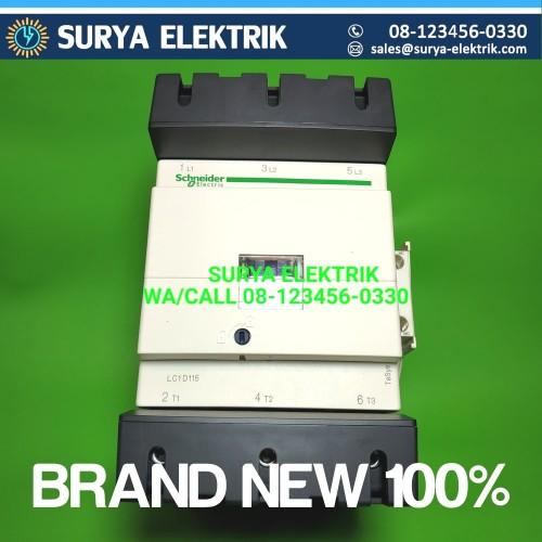 Foto Produk kontaktor schneider 150 ampere lc1d150 LC1D150 75kw 150a dari SURYA-ELEKTRIK