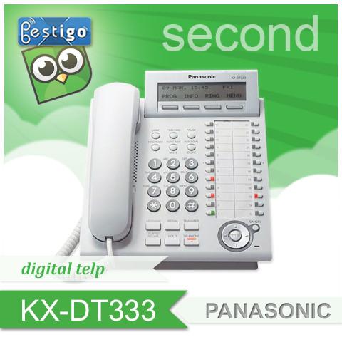 Foto Produk Telepon Panasonic Digital KX-DT333 Second dari BESTIGO PABX TELEPON