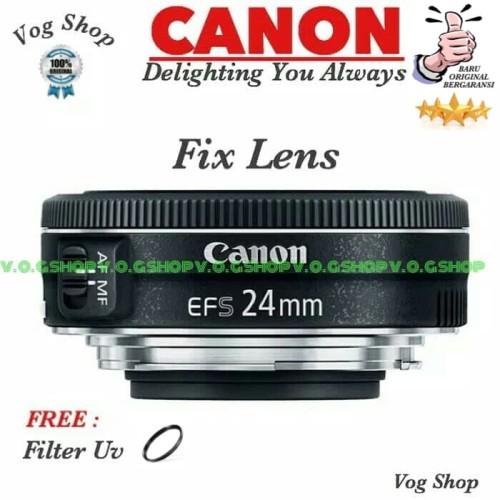 Foto Produk Lensa Fix Canon EFS 24MM F/2.8 STM dari Mugi Mugi Laris