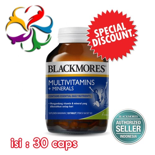 Foto Produk Blackmores Multivitamins + Minerals (30) dari Bagus Shopee