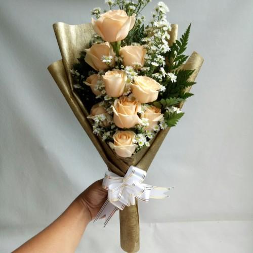 Foto Produk Buket bunga anniversary bunga mawar asli bouquet dari Freshcut Flower