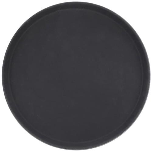 Foto Produk Tray / Nampan / Baki anti slip Bulat 14 inch / 35cm ( Hitam ) dari Pusat Horeka