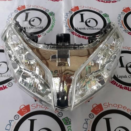Foto Produk reflektor lampu depan vario techno 110 karbu dari ONDERDIL MOTOR PEDIA