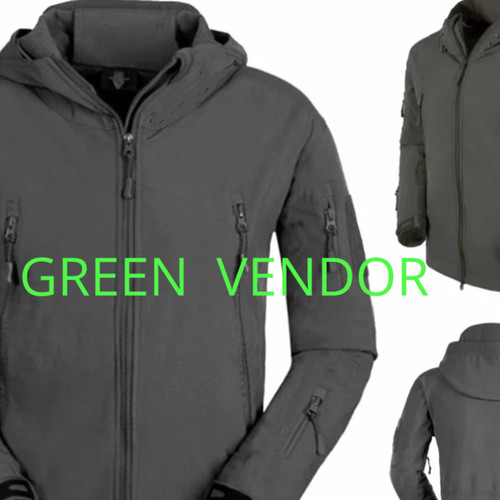 Foto Produk JAKET TAD TACTICAL GEAR JUMBO BIG SIZE WATERPROOF 3XL 4XL 5XL dari GREEN VENDOR