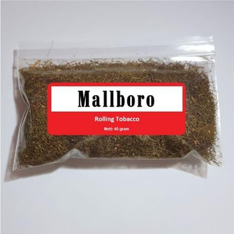 Foto Produk Tembakau Rokok Mallboro (Bulk 40 g)–Linting Tingwe Rasa Marlboro dari Javan Cigars