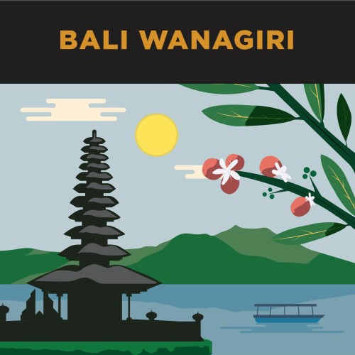 Foto Produk Kopi Single Origin Arabica Bali Wanagiri 250gr dari Gerilya Coffee