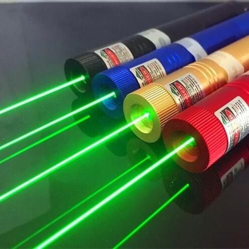 Foto Produk Green Laser Lampu Led / Green Laser Pointer 303 - Hitam dari Nagada shop