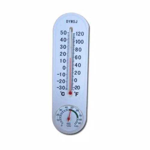 Foto Produk Termometer Higrometer Analog Alat Ukur suhu Kelembapan Ruang Humidity dari bajunisa