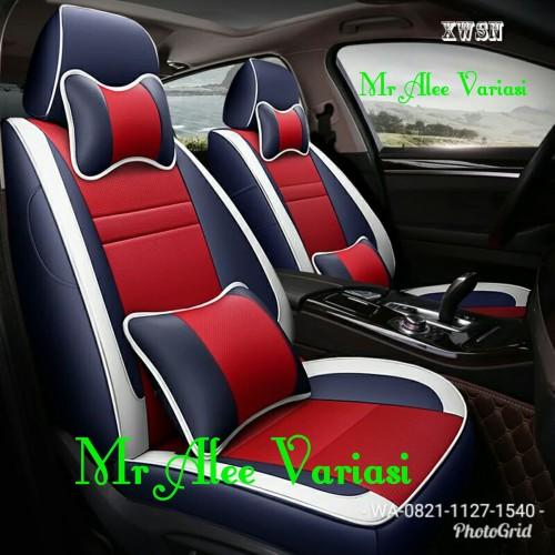 Foto Produk sarung jok mobil avanza veloz 2012-2018 mobilio brv innova dari MR. ALEEVARIASI