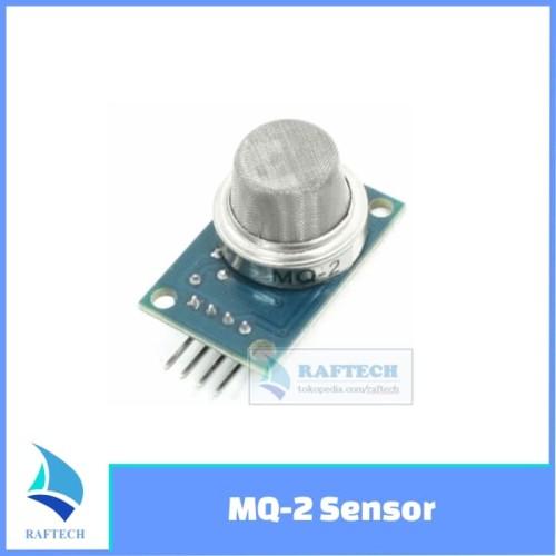 Foto Produk MQ2 / MQ-2 / MQ 2 - Sensor asap / gas detector dari RAFTECH