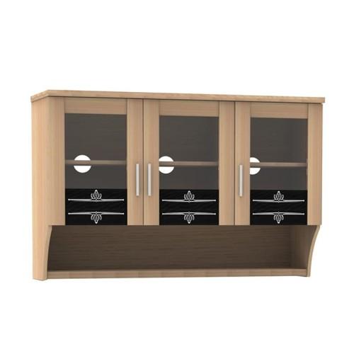 Foto Produk Kitchen Set Atas Tiga Pintu KSA 473 - Oak dari Super Furniture Online