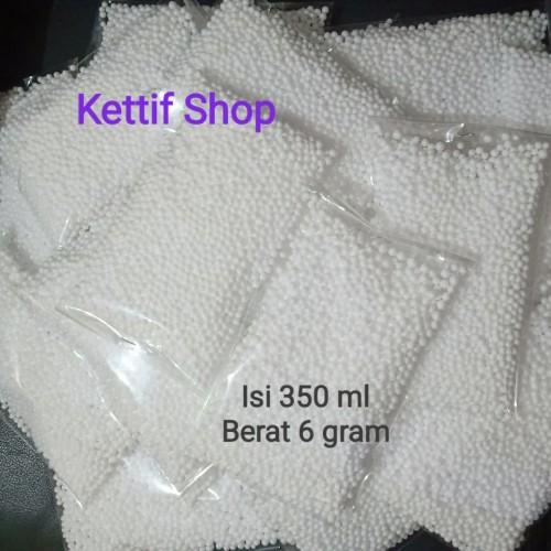 Foto Produk styrofoam butir/foam slime/floam slime/butiran gabus/crispy slime dari ketiff shop