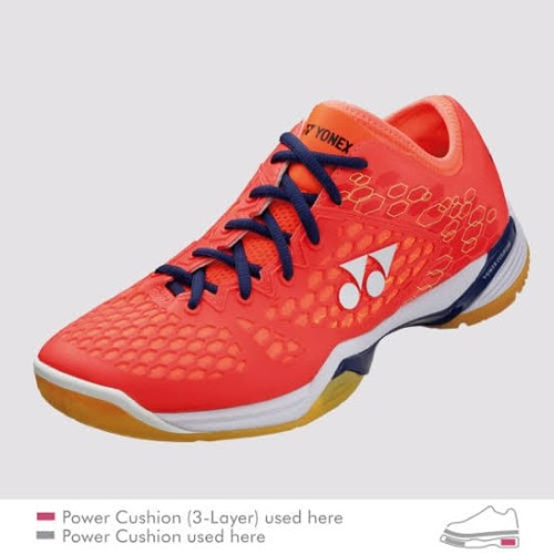 Foto Produk Sepatu Yonex SHB 03ZM(Coral Red) dari Lee Smash Sport