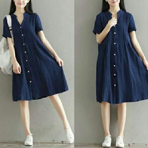Foto Produk Bigsize Buton [Dress 0117] RLE dari Super Model