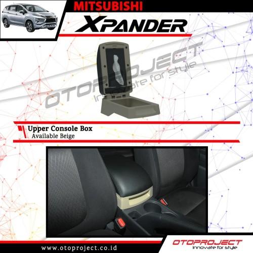 Foto Produk armrest tangan / console box beige otoproject mitsubisi xpander dari Mega Oriental Motor