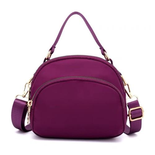 Foto Produk Tas Wanita Import Jinjing Dan Selempang CHIBAO Mini CB7701 7701 - Purple dari maju laku