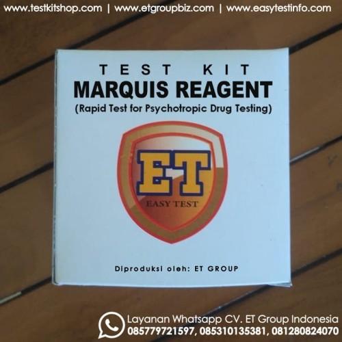 Foto Produk Marquis Reagent - Tes Kit untuk Uji Cepat Obat-obatan (Drug Test) dari easytest