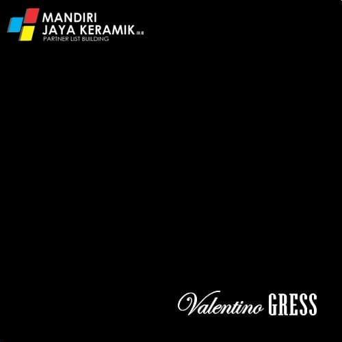 Foto Produk Granit Valentino Gress Super Black 60x60 cm dari Mandiri Jaya Keramik