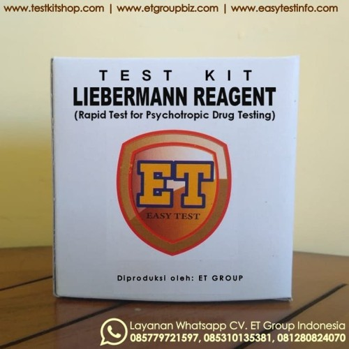 Foto Produk Liebermann Reagent - Test Kit untuk Uji Cepat Obat-obatan Drug Testkit dari easytest
