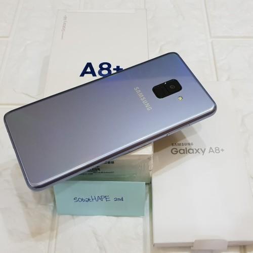 Foto Produk HP Samsung Galaxy A8 Plus A8+ 2018 2nd Ex Resmi SEIN Fullset OEM dari SobatHAPE