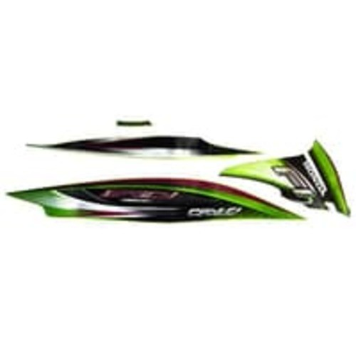 Foto Produk Sticker Body Kanan Green Black – Spacy FI 871X0KZLC30ZER dari Honda Cengkareng