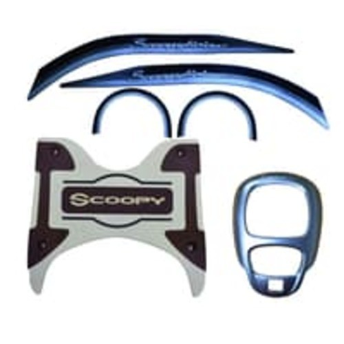 Foto Produk Paket Aksesoris All New Scoopy Stylish Brown dari Honda Cengkareng