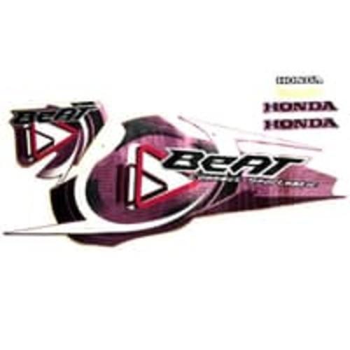 Foto Produk Sticker Body Kiri Pink – BeAT Karburator 871X0KVY700ZEL dari Honda Cengkareng