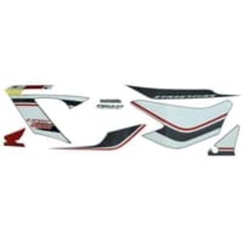 Foto Produk Sticker Body Kiri Hitam Putih – New CB150R StreetFire 871X0K15940ZAL dari Honda Cengkareng